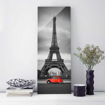 Produktfoto Print on Glass - Spot on Paris - Glass...