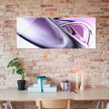 Product picture Print on Glass - Drifting - Glass Wall...