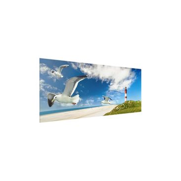 Product picture Print on Glass - Dune Breeze - Glass...
