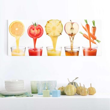 Product picture Print on Glass - Freshly squeezed -...