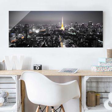 Immagine del prodotto Stampa su vetro - Tokyo - Panoramico