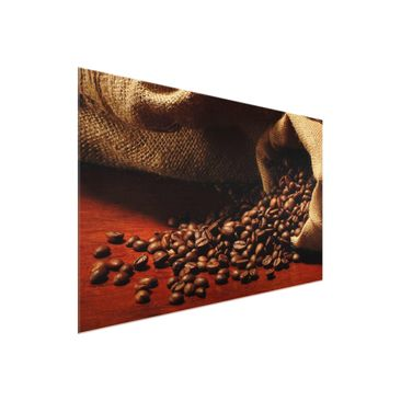 Product picture Glass Print - Dulcet Coffee - Glass Wall...