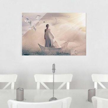 Produktfoto Glasbild - Eternal Journey - Quer 2:3