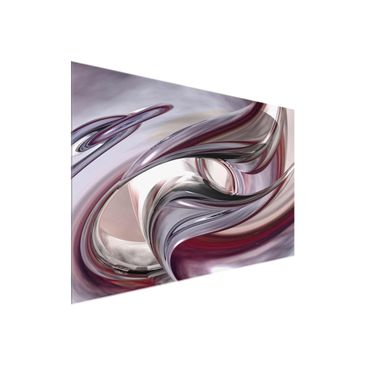 Product picture Glass Print - Illusionary - Glass Wall...