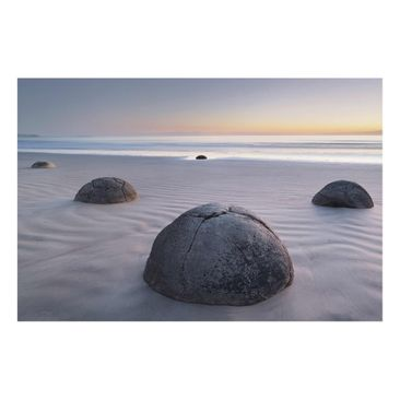 Product picture Glass Print - Moeraki Boulders New...