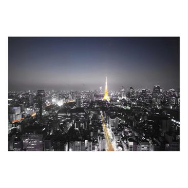 Product picture Glass Print - Tokyo - Glass Wall Art...