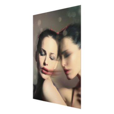 Product picture Print on Glass - seduction - Glass Wall...