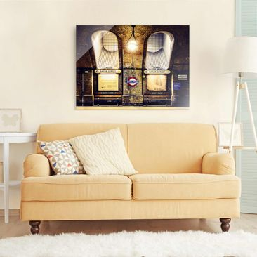 Product picture Glass Print - Baker Street - Glass Wall...
