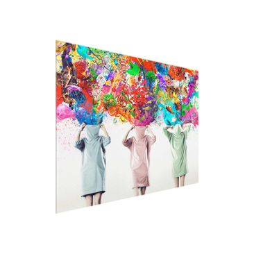 Product picture Glass Print - Brain Explosions - Glass...