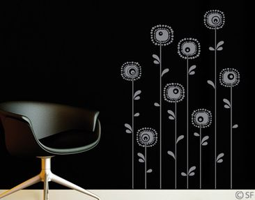 Produktfoto Wall Decal No.SF988 Retroplants