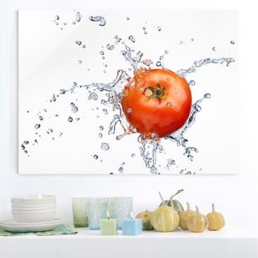 Product picture Glass Print - Fresh tomato - Glass Wall...