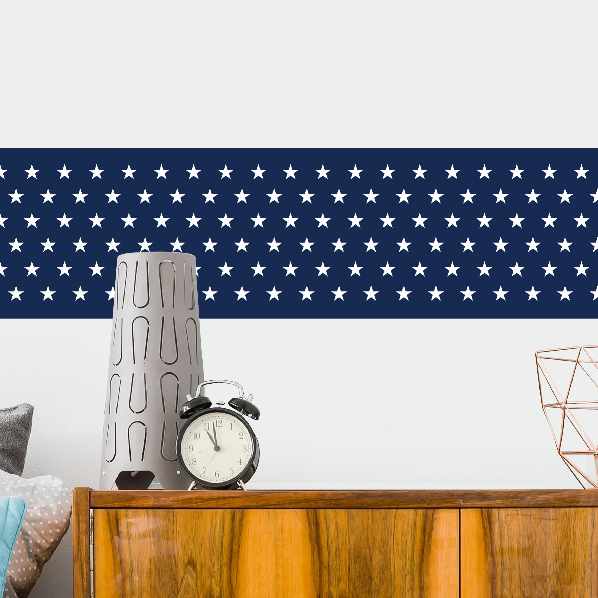 Beliebt Bordüre selbstklebend - Maritime Stern Tapetenbordüre in GG74