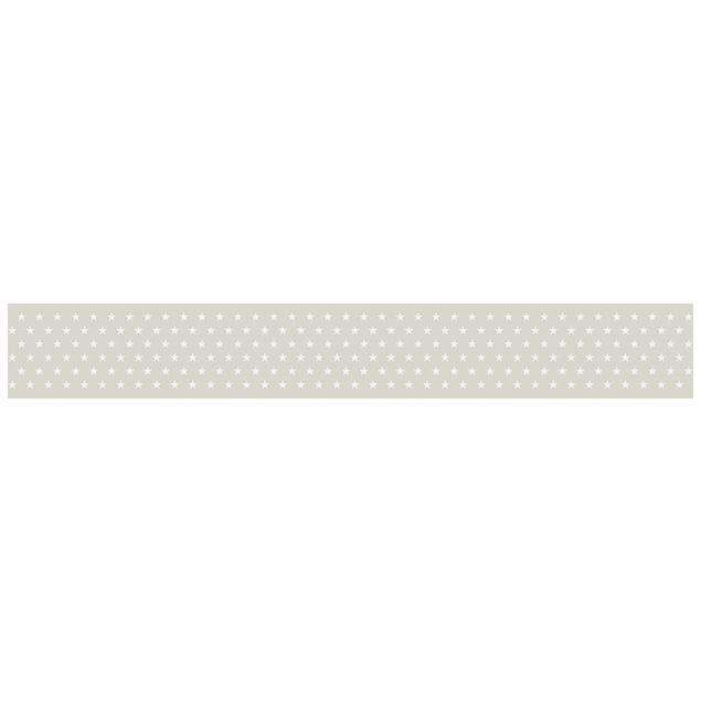 bord re selbstklebend maritime sterne tapetenbord re in creme wei. Black Bedroom Furniture Sets. Home Design Ideas