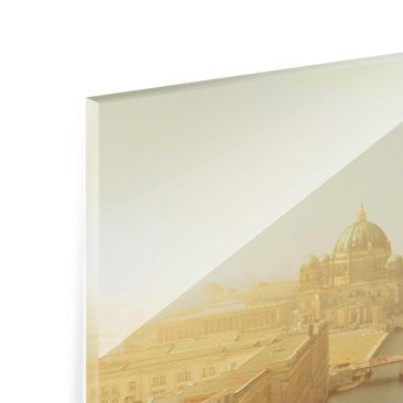 Product picture Glass Print Collage - Berlin in the...