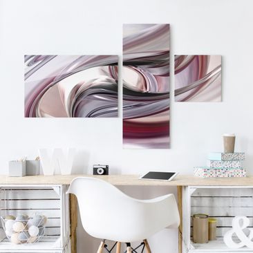 Product picture Print on Glass Collage - Illusionary 3...