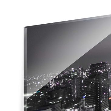 Product picture Print on Glass Collage - Tokyo 3 parts -...