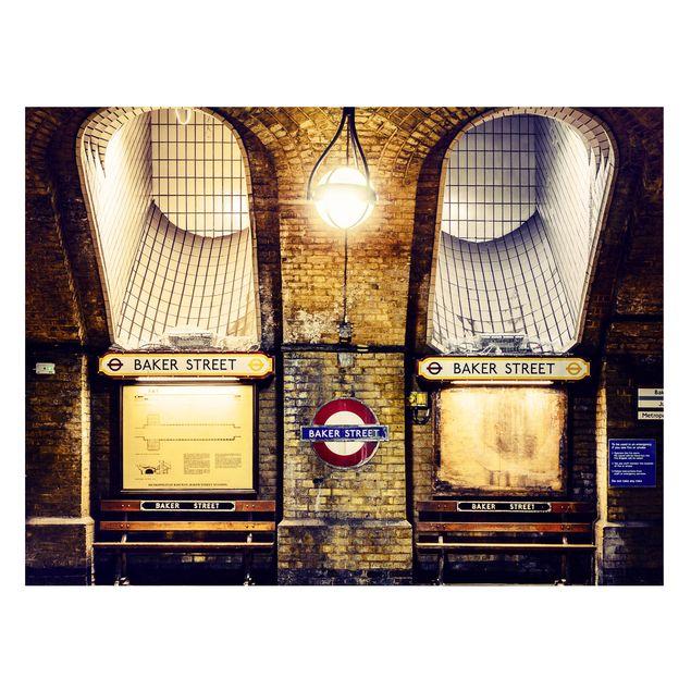 Produktfoto Magnettafel - Baker Street - Memoboard Quer 3:4