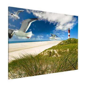 Produktfoto Magnettafel - Dune Breeze - Memoboard Quer 3:4