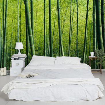 Produktfoto Fototapete Bambus -  Bambuswald - selbstklebende Vinyltapete