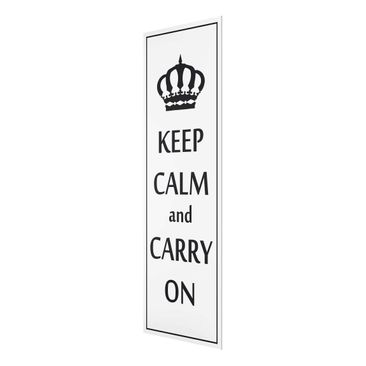 Product picture Print on Glass - No.RS69 Keep Calm -...