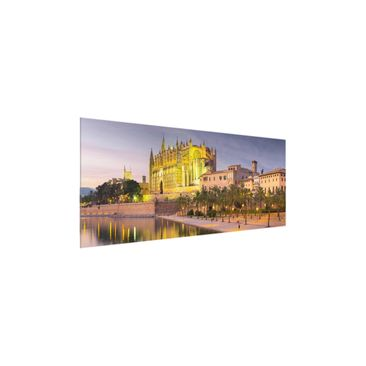 Product picture Print on Glass - Catedral de Mallorca...