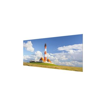 Product picture Print on Glass - Lighthouse in...