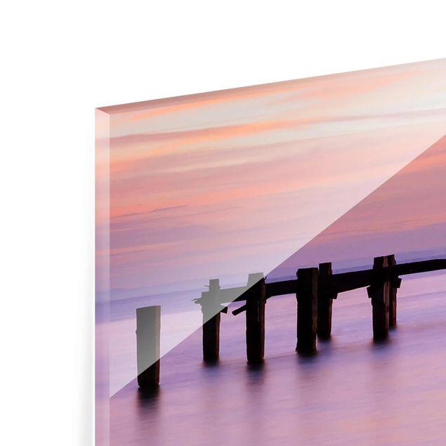 Produktfoto Glasbild - Meeresromantik - Panorama Quer