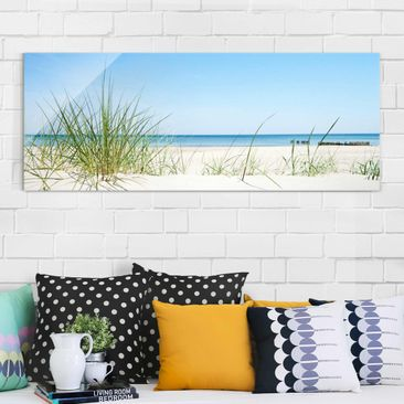 Product picture Print on Glass - Baltic Coast - Glass...