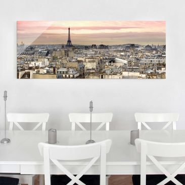 Product picture Print on Glass - Paris close - Glass...