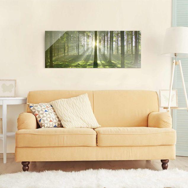 Produktfoto Glasbild - Spring Fairytale - Panorama Quer
