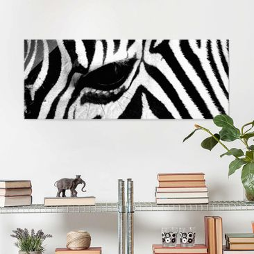 Product picture Print on Glass - Zebra Crossing - Glass...