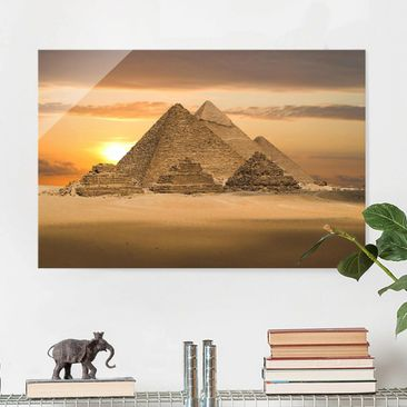 Produktfoto Glasbild - Dream of Egypt - Quer 2:3