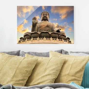 Product picture Glass Print - Big Buddha - Glass Wall...