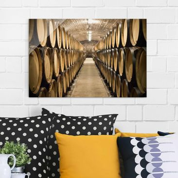 Product picture Glass Print - Wine cellars - Glass Wall...