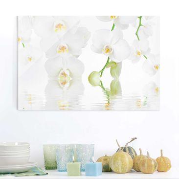 Produktfoto Glasbild - Wellness Orchidee - Quer 2:3