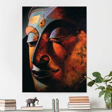 Produktfoto Glasbild - Bombay Buddha - Hoch 4:3