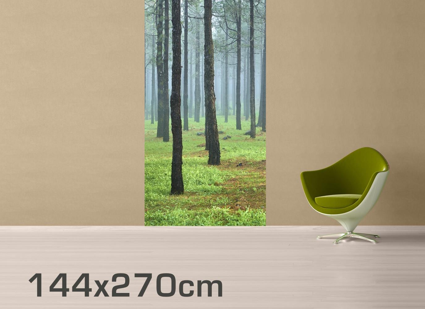 fototapete wald tiefer wald mit kiefern auf la palma selbstklebende vinyltapete. Black Bedroom Furniture Sets. Home Design Ideas