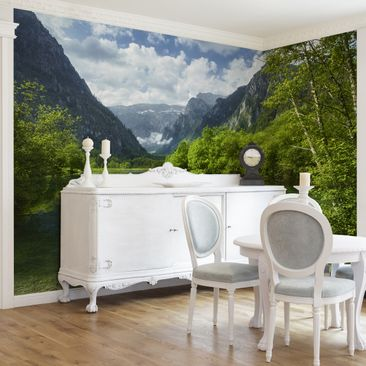 Product picture Photo Wall Mural Mountain Lake with...