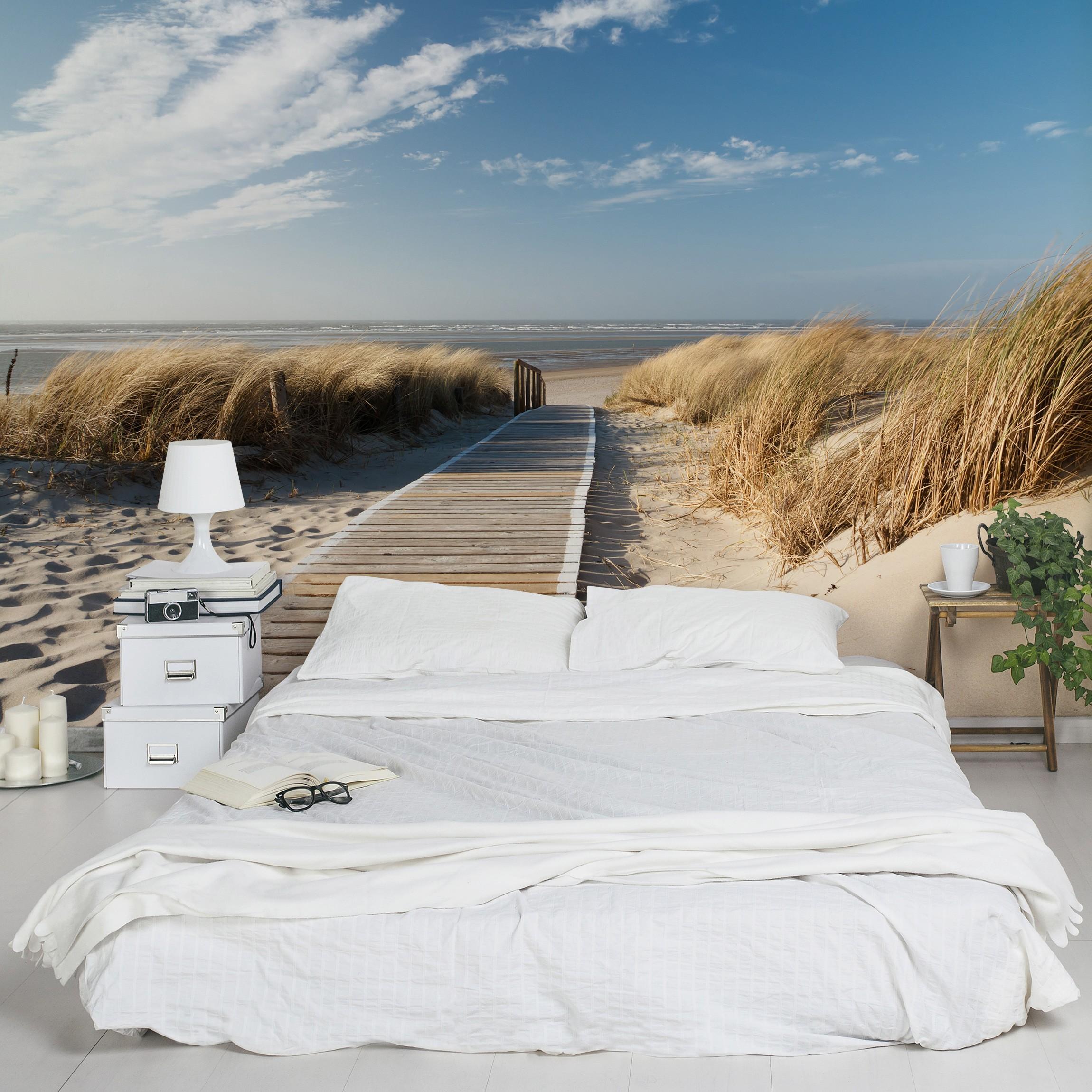 strand fototapete selbstklebend ostsee strand. Black Bedroom Furniture Sets. Home Design Ideas