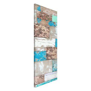 Produktfoto Magnettafel - Maritime Planks - Memoboard Panorama Hoch