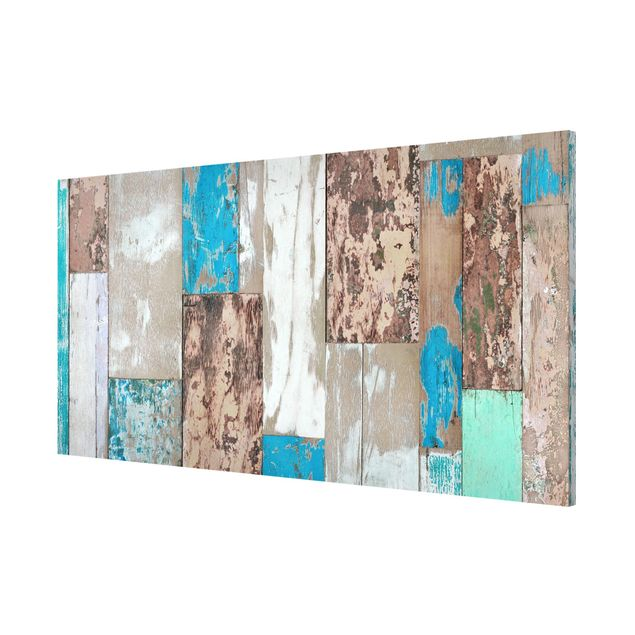Produktfoto Magnettafel - Maritime Planks - Memoboard Panorama Quer
