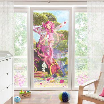 Produktfoto Fensterfolie - Sichtschutz Fenster Mia and me - Mia und Phuddle - Fensterbilder