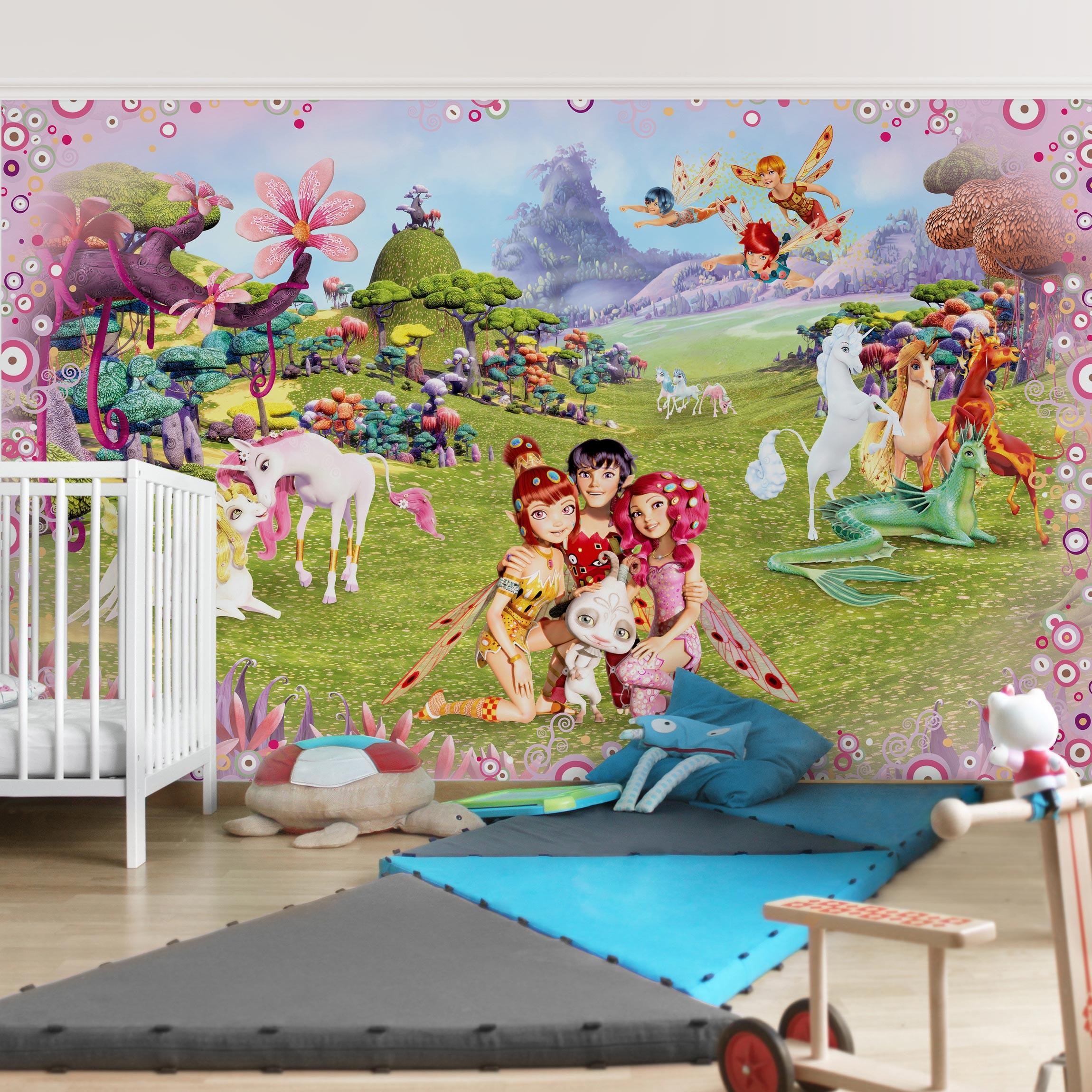 Kindertapete selbstklebend - Mia and Me - Mia´s magische Welt