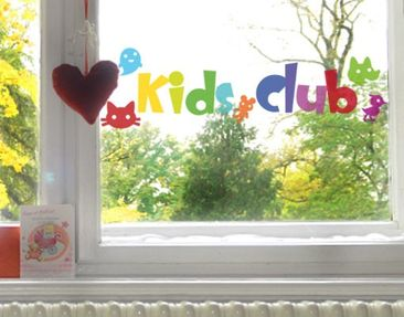 Produktfoto Window Sticker No.IS22 Kids Club
