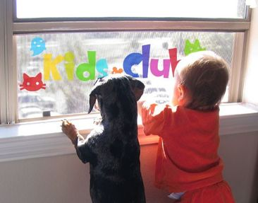 Product picture Window Sticker No.IS22 Kids Club