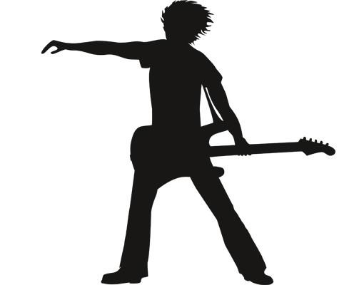 Produktfoto Wandtattoo No.CA8 The Guitarist