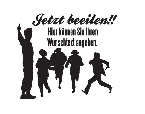 Produktfoto Wandtattoo Sprüche - Wandtattoo Namen...