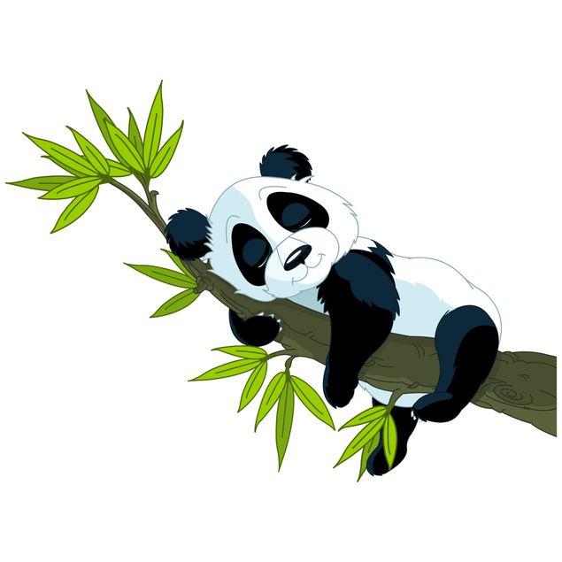 Produktfoto Wandtattoo Kinderzimmer Schlafender Panda