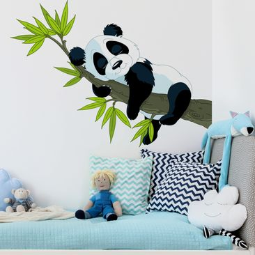 Product picture Wall Decal Sleeping Panda