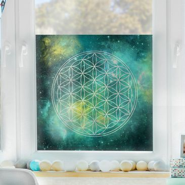 Produktfoto Window Mural Flower of Life